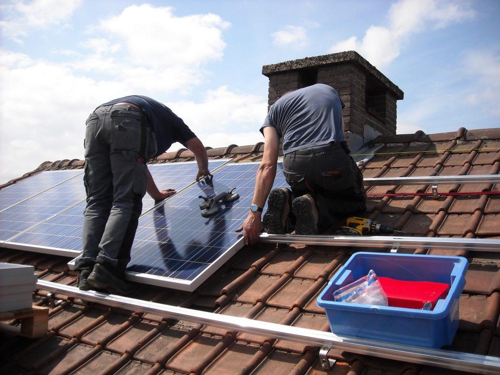Eco Home Solar Panel Installation